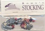 Roma's Stocking Charms and Embellishments