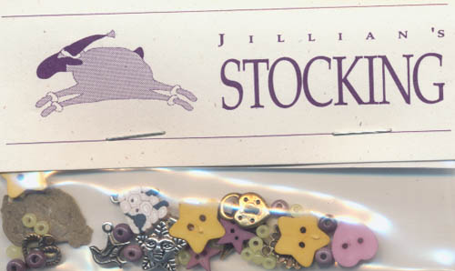 Jillian's Stocking Charms and Embellishments