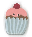 Small Cupcake Button JABC nh1028.s