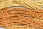 Candy Corn Classic Colorworks Cotton Floss 5yd skein CCT-173