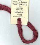 Sweetest Heart Classic Colorworks Cotton Floss 5yd skein CCT-204