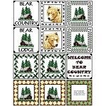 Needle Block Wonder 06 - Bear Country - (Cross Stitch)