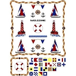 Needle Block Wonder 05 - Nautical - (Cross Stitch)