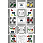 Needle Block Wonder 04 - Racing Lover - (Cross Stitch)