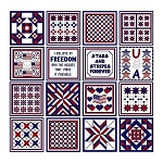 Needle Block Wonder 01 - Patriotic - (Cross Stitch)