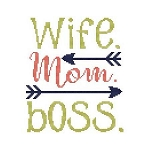 Sassy Fun Mom -  Wife Mom Boss