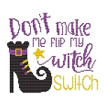 Witch Switch - (Cross Stitch)