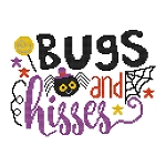 Bugs and Kisses - (Cross Stitch)