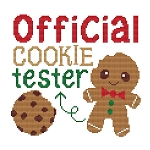 Official Cookie Tester - (Cross Stitch)