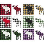 Fun with Plaid Moose