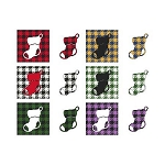 Fun with Plaid Stocking