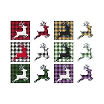 Fun with Plaid Reindeer
