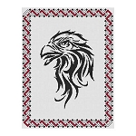 Tribal Eagle - (Cross Stitch)