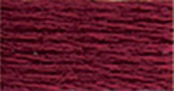 0814 Dark Garnet DMC Floss