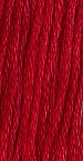 Buckeye Scarlet The Gentle Art Thread 10 Yard Skein #0390 Sampler Threads