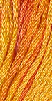 Orange Marmalade The Gentle Art Thread 10 Yard Skein #0580 Sampler Threads