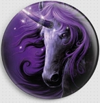 Black Magic Unicorn Needle Nanny By She Black Dragon Gecko Rouge Needle Minder