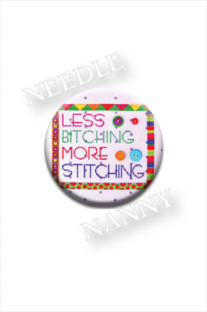 Less Bitching More Stitching Needle Nanny by Amy Bruecken Designs
