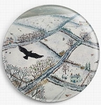 As The Crow Flies Needle Minder By Jo Grundy  Gecko Rouge Needle Minder Needle Nanny