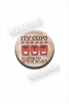 My Cups Runneth Over Needle Nanny by Hands On Design Coffee Needle Minder