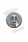 Snowflake Santa Needle Nanny by Sue Hillis Designs