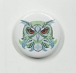 Oscar Needle Nanny Colorful Owls by Kitty & Me Designs