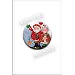 Christmas Magic Needle Nanny by Amy Bruecken designs