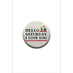 Hello Saturday I Love You Needle Nanny by Amy Brueken Designs
