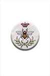 Queen Bee Needle Nanny by The Blackberry Rabbit Needle Minder