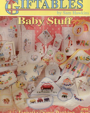 Giftables - Baby Stuff - (Cross Stitch)
