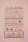 Spring Sampler - (Cross Stitch)