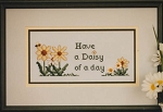 Daisy Day - (Cross Stitch)