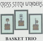 Basket Trio - (Cross Stitch)