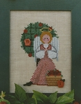 Apple Tree Angel - (Cross Stitch)