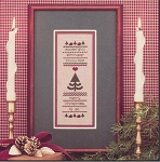 Christmas Band Sampler - (Cross Stitch)