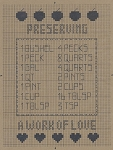 Preserving Sampler - (Cross Stitch)