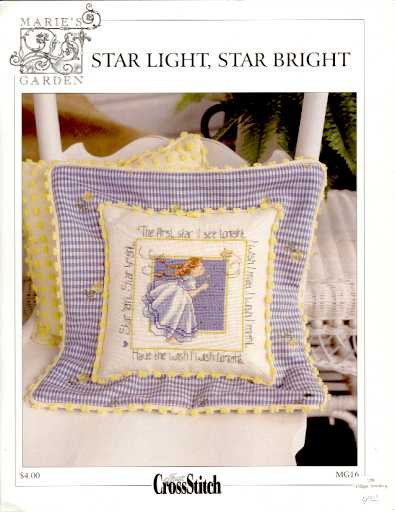 Star Light, Star Bright - (Cross Stitch)