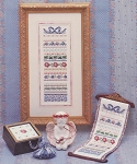 Parlor Ribbons - (Cross Stitch)
