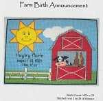 Farm Birth Announcement