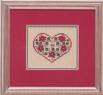 Poinsettias on Parade - (Cross Stitch)