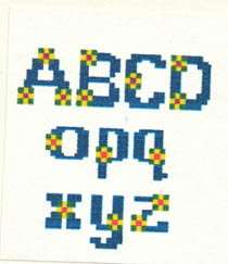 Bead-able Alphabets #1