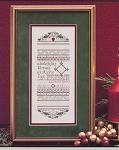 Holly-Days Sampler - (Cross Stitch)