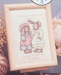 Gifts of Love - Sisters - (Cross Stitch)