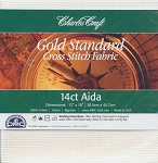 14 ct White Aida Gold Standard 12