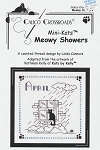 Mini-Kats - Meowy Showers - April - (Cross Stitch)