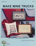 Make Mine Trucks - (Cross Stitch)