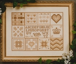 A Sampler of Stitches - (Cross Stitch)