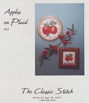 Apples on Plaid - (Cross Stitch)
