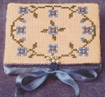 Forget-Me-Not Needle Book - (Cross Stitch)