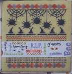 Halloween Ribbons - (Cross Stitch)